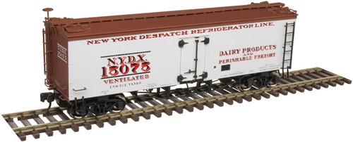 Atlas Master Line HO 20005809 36' Wood Reefer, New York Despatch #15097