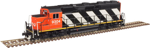 Atlas N 40004164 Silver Series EMD GP40 with Low Nose and Dynamic Brakes, Canadian National #9304