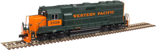 Atlas N 40004166 Silver Series EMD GP40 with Low Nose and Dynamic Brakes, Western Pacific #3523