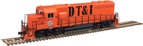 Atlas N 40004171 Gold Series EMD GP40 with Low Nose and Dynamic Brakes, Detroit Toledo and Ironton #405