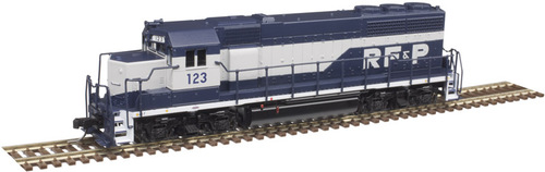 Atlas N 40004174 Gold Series EMD GP40 with Low Nose and Dynamic Brakes, Richmond Fredericksburg and Potomac #123