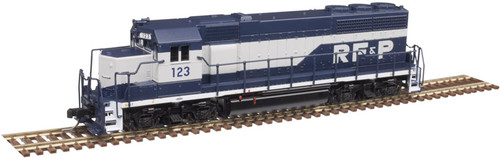 Atlas N 40004175 Gold Series EMD GP40 with Low Nose and Dynamic Brakes, Richmond Fredericksburg and Potomac #127