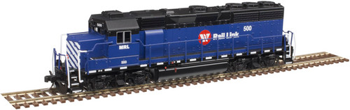 Atlas N 40004176 Gold Series EMD GP40 with Low Nose and Dynamic Brakes, Montana Rail Link #500