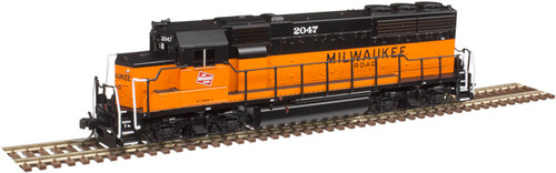 Atlas N 40004181 Gold Series EMD GP40 with Low Nose and Dynamic Brakes, Milwaukee Road #2050