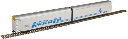 Atlas N 50005194 Articulated Auto Carrier, Santa Fe #700782