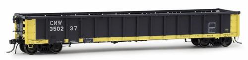 Arrowhead Models HO 1224-1 Greenville 2494 Railgon Gondola, Chicago and North Western #350237