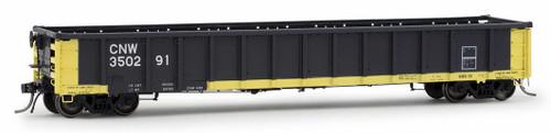 Arrowhead Models HO 1225-1 Greenville 2494 Railgon Gondola, Chicago and North Western #350291