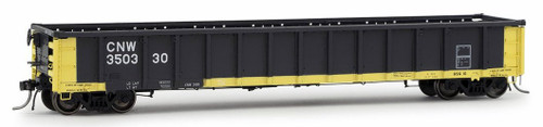 Arrowhead Models HO 1226-1 Greenville 2494 Railgon Gondola, Chicago and North Western #350330