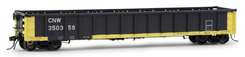 Arrowhead Models HO 1227-1 Greenville 2494 Railgon Gondola, Chicago and North Western #350358