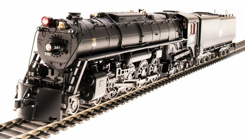 Broadway Limited Imports HO 6490 S-3 4-8-4, Milwaukee Road #261 (Excursion)
