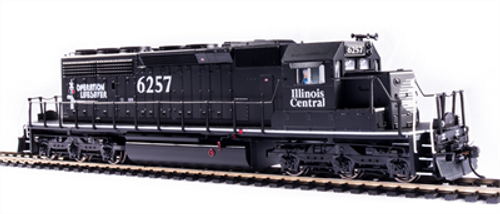 Broadway Limited Imports HO 6787 EMD SD40-2, Illinois Central #6257