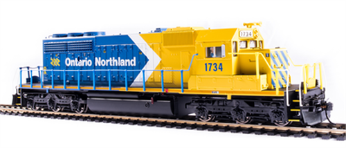 Broadway Limited Imports HO 6789 EMD SD40-2, Ontario Northland #1734