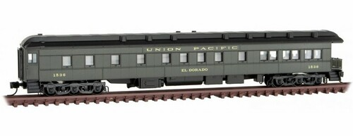 Micro-Trains N 14400420 3-2 Heavyweight Observation Car, Union Pacific #1536