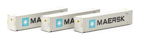Athearn N 17666 45' Containers, Maersk (3)