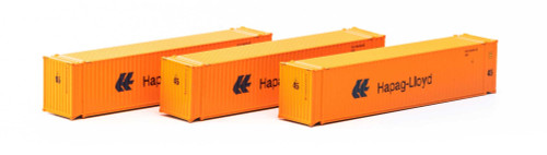 Athearn N 17667 45' Containers, Hapag Lloyd (3)