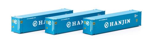 Athearn N 17669 45' Containers, Hanjin (3)