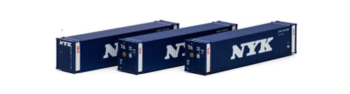 Athearn N 17671 45' Containers, NYK (3)