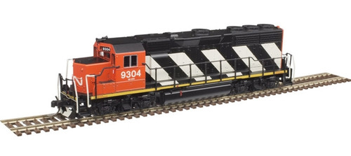 Atlas N 40004165 Silver Series EMD GP40 with Low Nose and Dynamic Brakes, Canadian National #9308