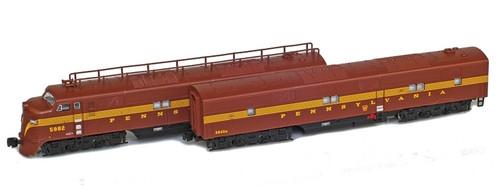 American Z Line Z 64604-2 EMD E7 A/B Set, Pennsylvania Railroad #5882/5840B  (No Restock Expected)