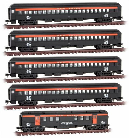 Micro-Trains N 99302110 New Haven Heavyweight Passenger Car 5-Pack