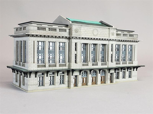 Custom Model Railroads HO 098 City Station Kit