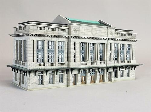 Custom Model Railroads N 098 City Station Kit