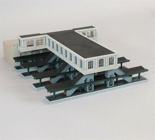 Custom Model Railroads N 100 City Station Concourse Kit