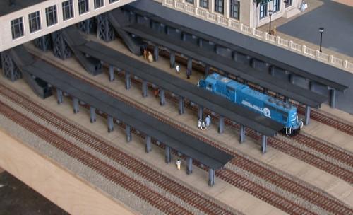Custom Model Railroads N 101 City Station Platform Kits