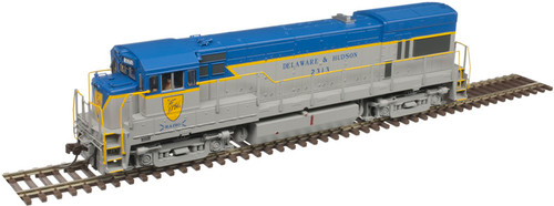 Atlas Master Line HO 10003422 Silver Series GE U23B with Low Nose, Delaware and Hudson #2308