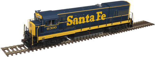 Atlas Master Line HO 10003437 Gold Series GE U23B with Low Nose, Santa Fe #6344