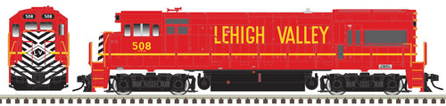 Atlas Master Line HO 10003446 Gold Series GE U23B with Low Nose, Lehigh Valley #508