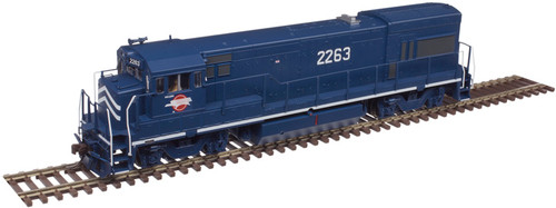 Atlas Master Line HO 10003447 Gold Series GE U23B with Low Nose, Missouri Pacific #2263