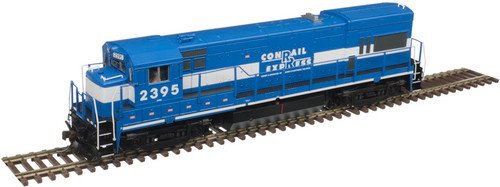 Atlas Master Line HO 10003450 Gold Series GE U23B with Low Nose, Conrail Express (RBMN) #2395