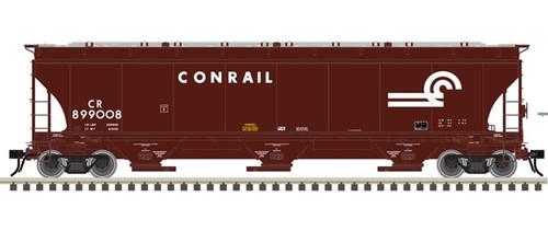 Atlas Master Line O 3001137 Trinity 5161 Cubic Foot Covered Hopper, Conrail