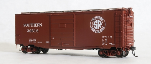 Tangent Scale Models HO 26010-05 PS-1 40' Box Car with 9' Door, Southern #30618