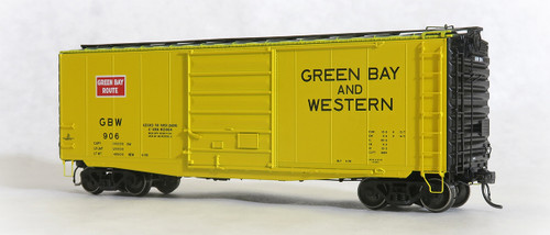 Tangent Scale Models HO 26012-01 PS-1 40' Box Car with 9' Door, Green Bay and Western #906