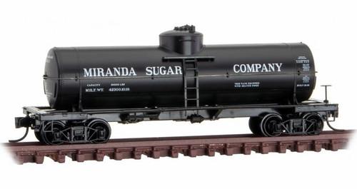 Micro-Trains N 06500166 39' Single Dome Tank Car, Miranda Sugar #1