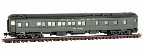 "Micro-Trains N 14100420 10-1-2 Heavyweight Sleeper Car, Union Pacific ""Streator"""