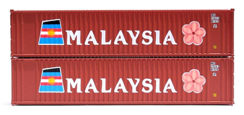 Jacksonville Terminal Company N 405503 40' 2-P-44-P-2 Panel Containers, Malaysia (2)
