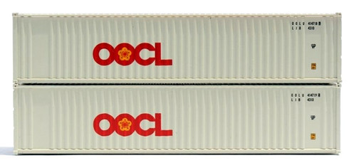 Jacksonville Terminal Company N 405504 40' 2-P-44-P-2 Panel Containers, OOCL (2)