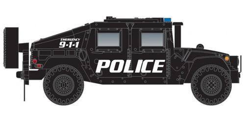 Micro-Trains N 49945955 Humvee Vehicles, Police (2)
