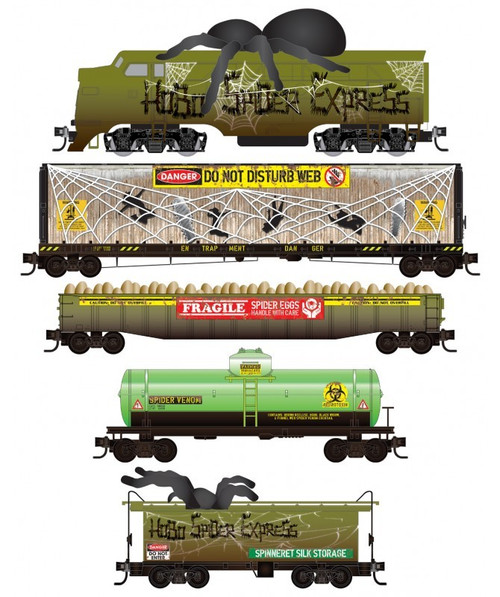 Micro-Trains N 99321350 Hobo Spider Express Train Set