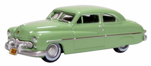 Oxford Diecast HO 87ME49008 1949 Mercury 8 Coupe, Calcutta Green
