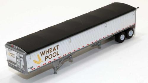 Lonestar Models HO 6037 Wilson Pacesetter 43' Grain Trailer Kit, Ontario Wheat Pool