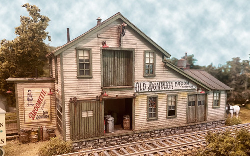 Bar Mills Scale Model Works HO 0273 Old Dominion Kit