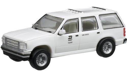 Atlas N 60000135 1993 Ford Explorers, Burlington Northern (2)