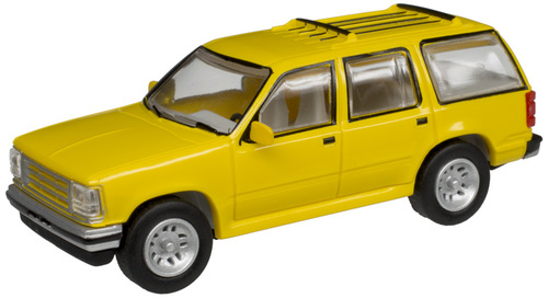 Atlas HO 30000073 1993 Ford Explorer, Yellow