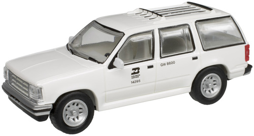 Atlas HO 30000136 1993 Ford Explorer, Burlington Northern