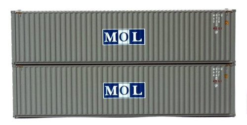 Jacksonville Terminal Company N 405051 40' High Cube Containers with Magnetic System, MOL (2)