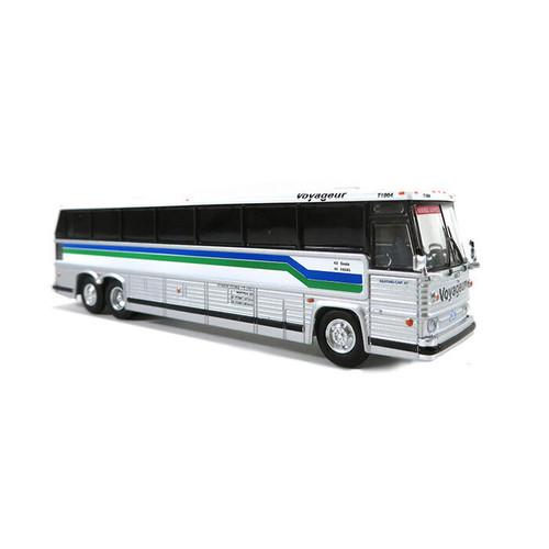 Iconic Replicas HO 87-0261 1984 MCI MC-9 Bus, Voyageur Quebec